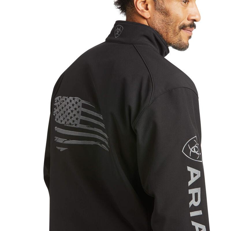 Logo 2.0 Patriot Softshell Water Resistant Jacket