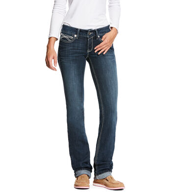 R.E.A.L. Low Rise Stretch Kylie Stackable Straight Leg Jean