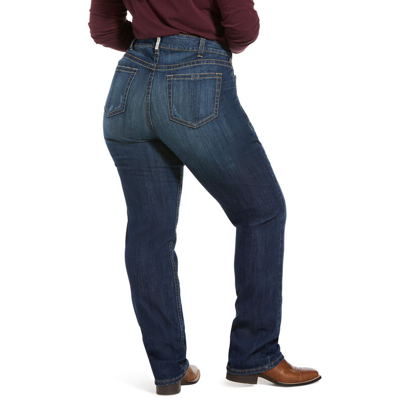 R.E.A.L. Mid Rise Lucy Straight Jean