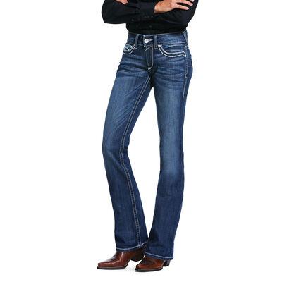 R.E.A.L. Mid Rise Stretch Heirloom Boot Cut Jean