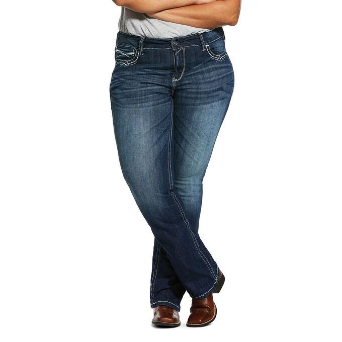 R.E.A.L. Mid Rise Stretch Firebird Boot Cut Jean