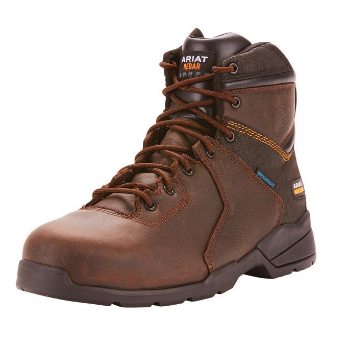 """Rebar Flex Protect 6"""" Waterproof Carbon Toe Work Boot"""