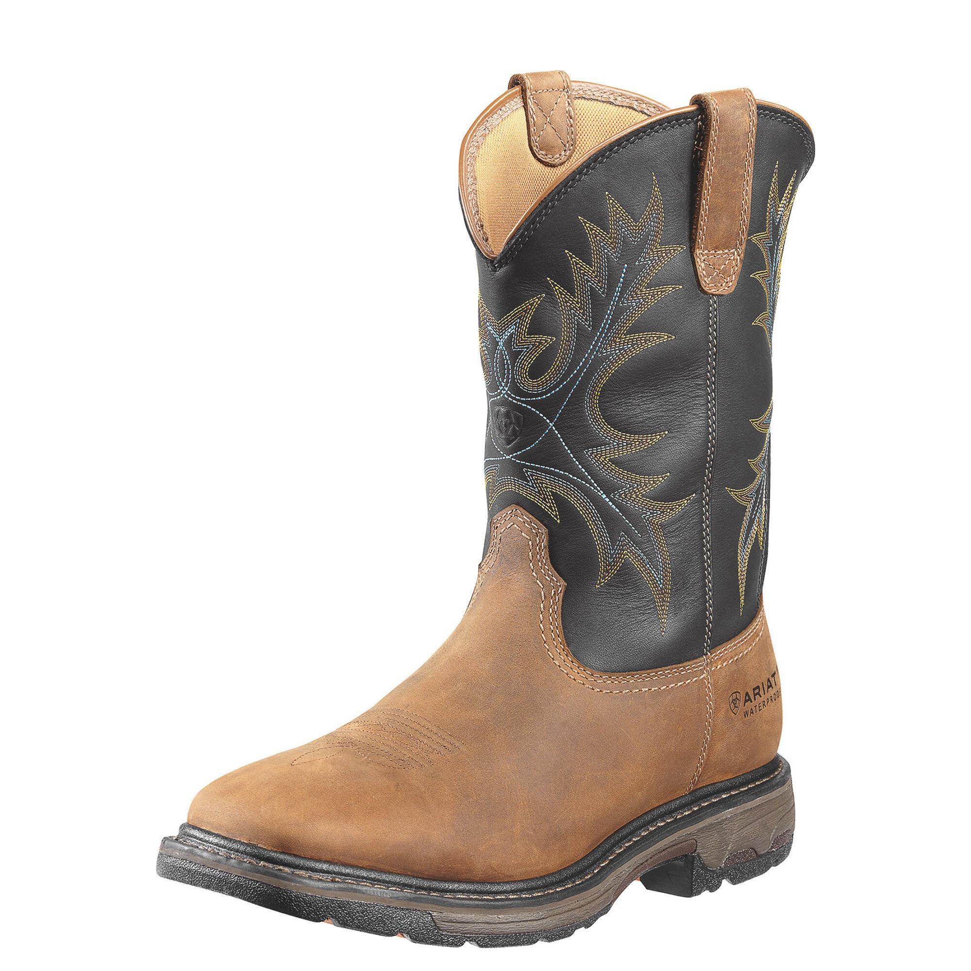 WorkHog Waterproof Steel Toe Work Boot