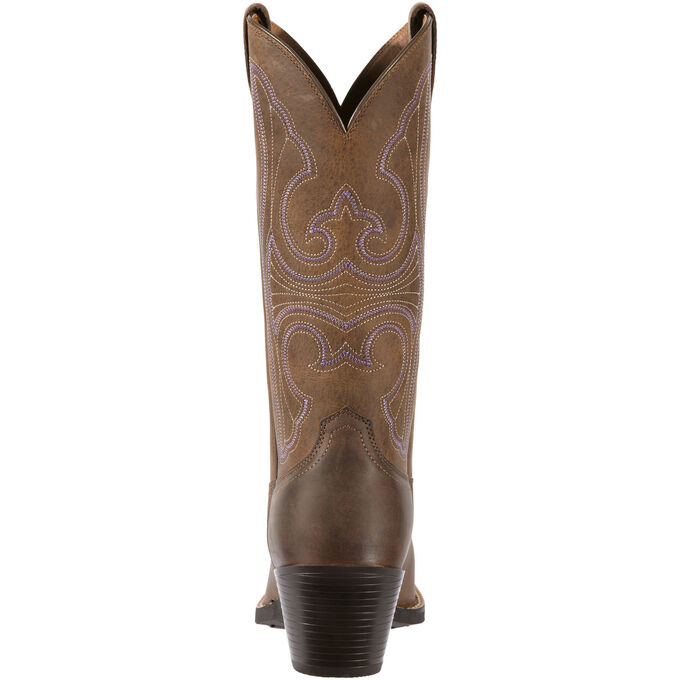 Round Up D Toe Western Boot