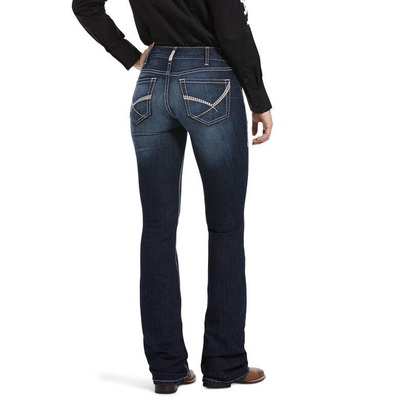 R.E.A.L. Mid Rise Cleo Boot Cut Jean