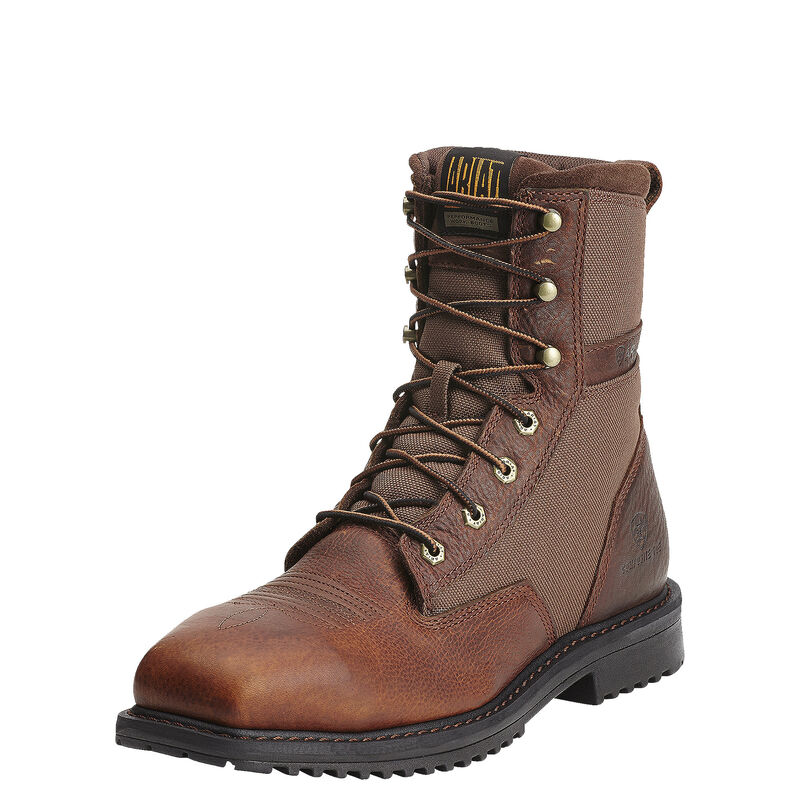 """RigTek 8"""" Wide Square Toe Composite Toe Work Boot"""
