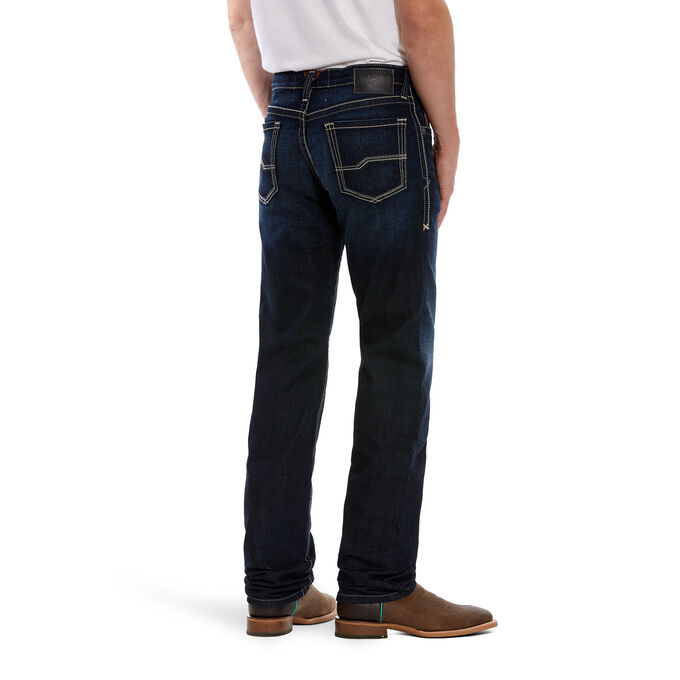 M1 Vintage Stretch Ash Stackable Straight Leg Jean