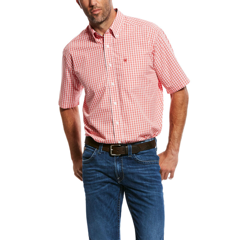 Wrinkle Free Paulson Print Shirt