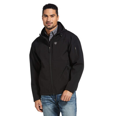 Vernon Hooded Softshell Water Resistant Jacket
