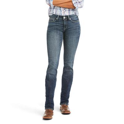R.E.A.L. High Rise Destiny Straight Jean