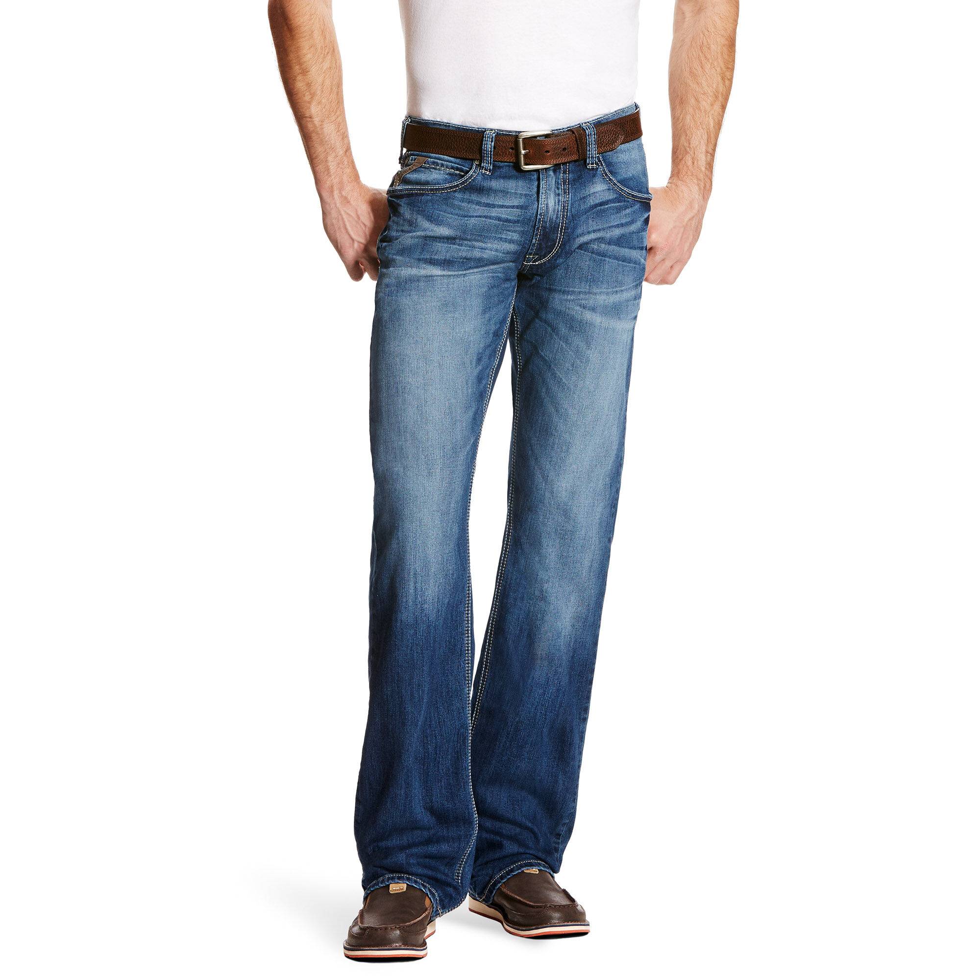 a5e30d90 Images. M5 Slim Incline Cooling Stretch Stackable Straight Leg Jean