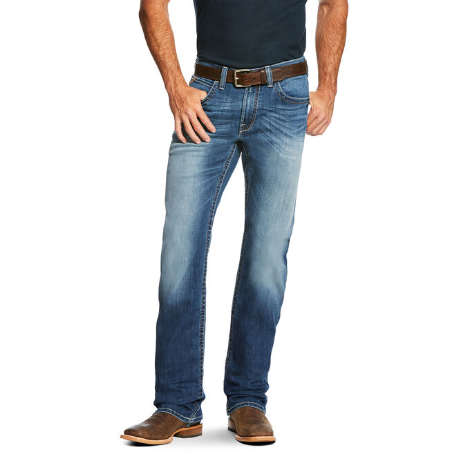 M4 Low Rise Cooper TekStretch Boot Cut Jean
