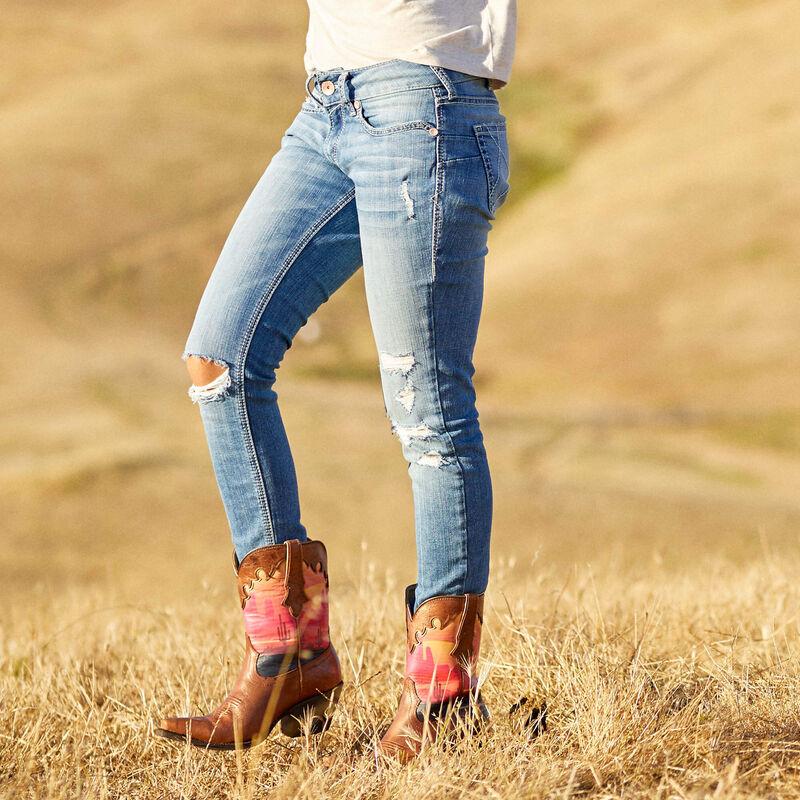 R.E.A.L. Perfect Rise Stretch Ella Skinny Jean