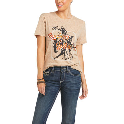 Cowboys & Whiskey T-Shirt