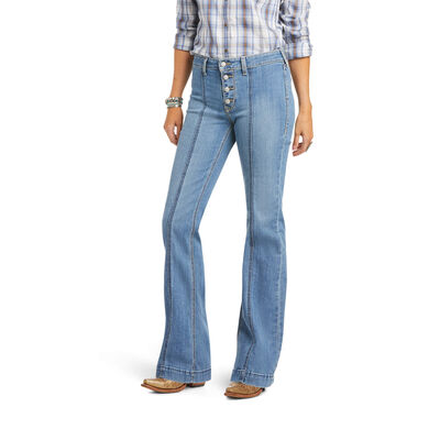 Slim Trouser Rylee Wide Leg Jean