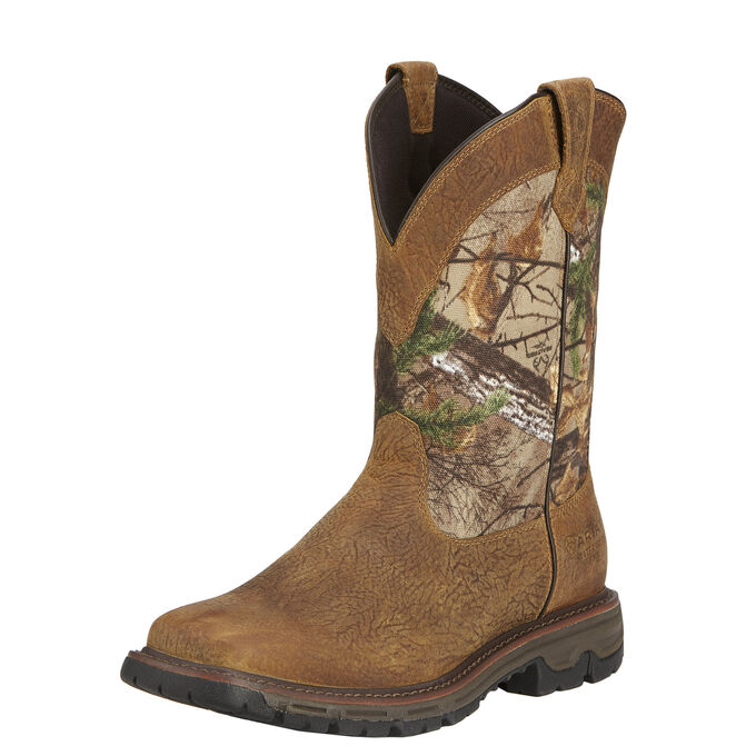 Conquest Pull-On Waterproof Hunting Boot