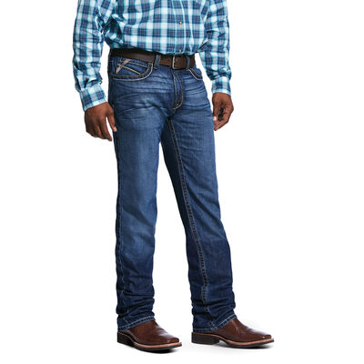 M2 Relaxed Banner Boot Cut Jean