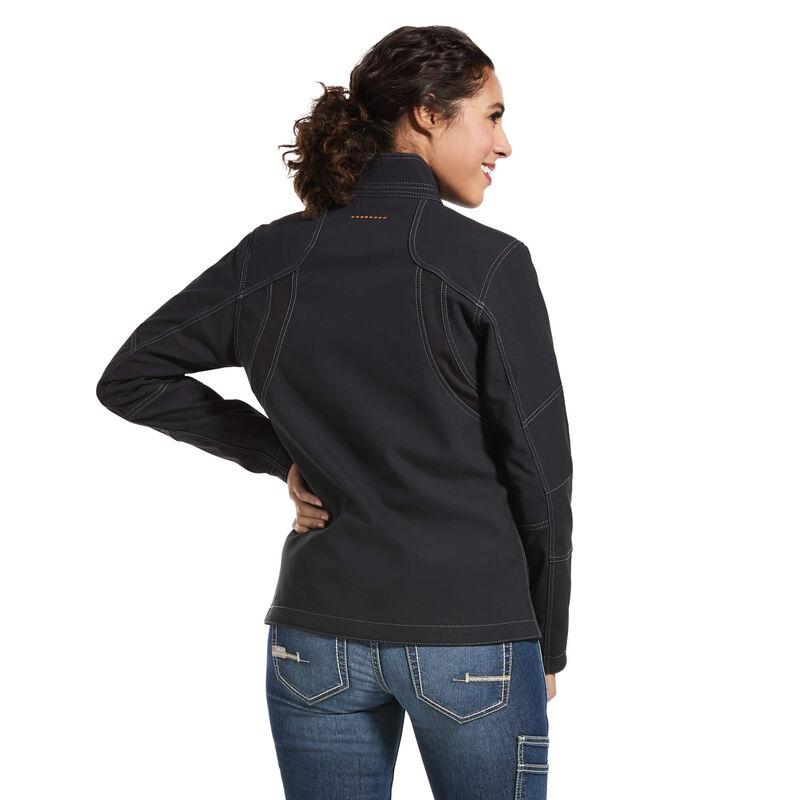 Rebar Stretch Canvas Softshell Jacket