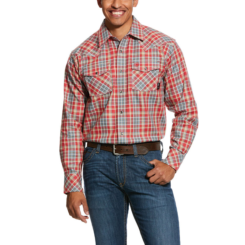 FR Garrison Retro Fit Snap Work Shirt