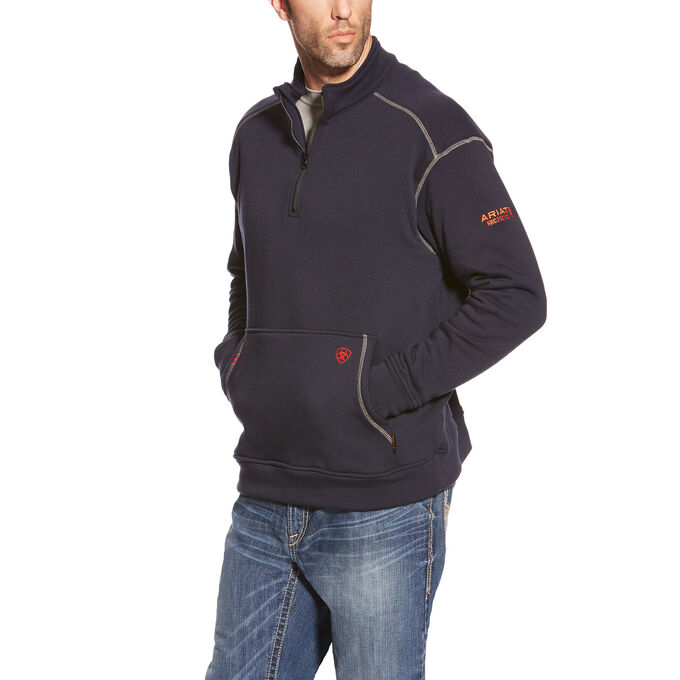 FR Polartec 1/4 Zip Fleece