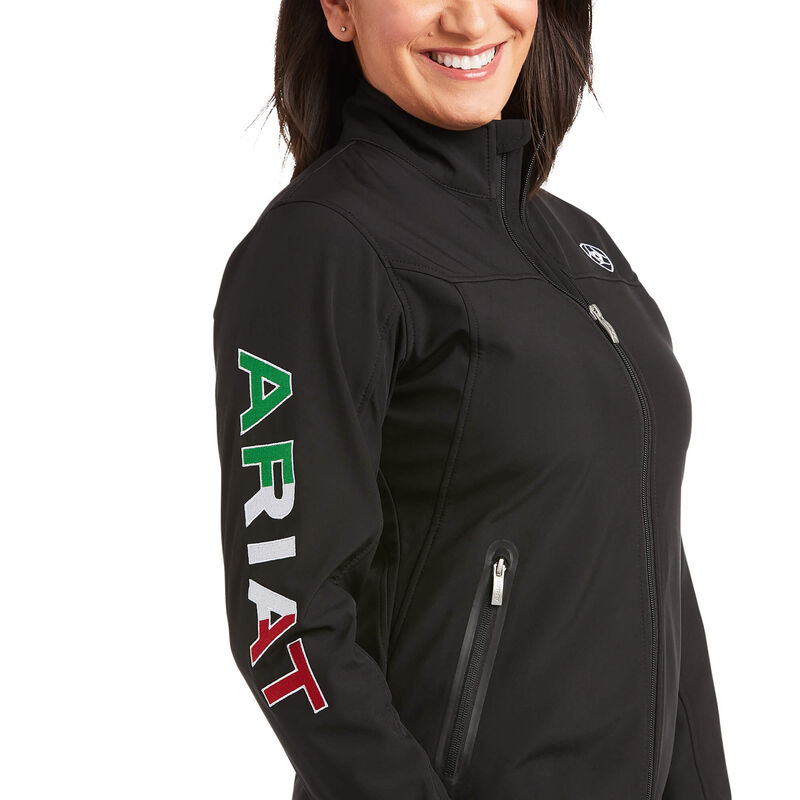 Classic Team MEXICO Softshell Water Resistant Jacket