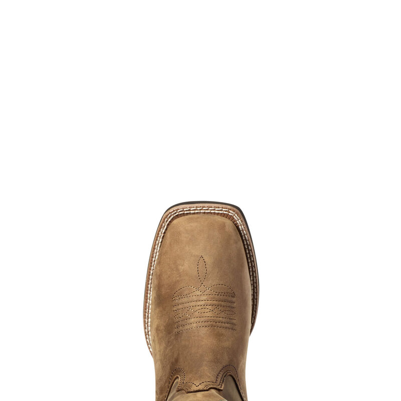 Round Up Wide Square Toe Waterproof Western Boot