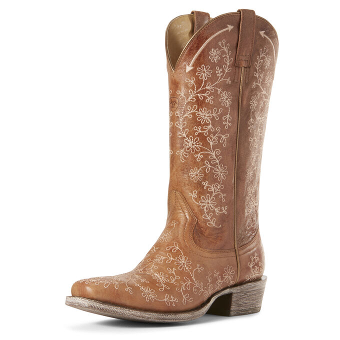 Fleur Western Boot