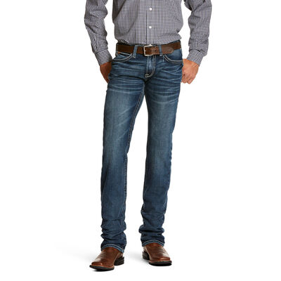 M7 Rocker Stretch Coltrane Stackable Straight Leg Jean