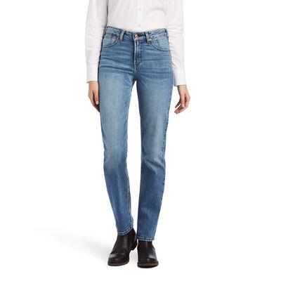 Premium High Rise Stretch Straight Jean
