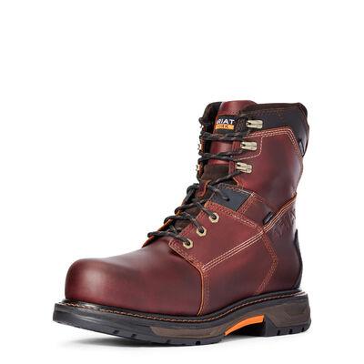 """WorkHog XT 8"""" Waterproof Carbon Toe Work Boot"""