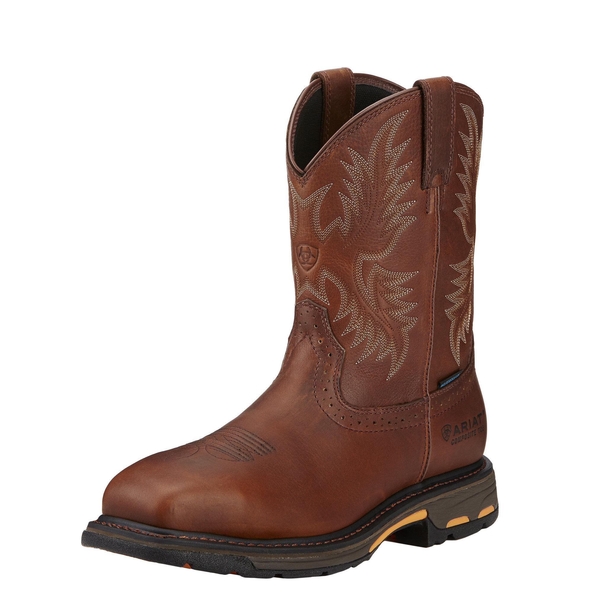 WorkHog CSA Waterproof Composite Toe Work Boot