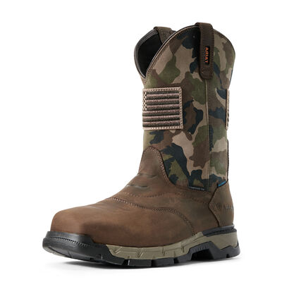 Rebar Flex Patriot Waterproof Composite Toe Work Boot