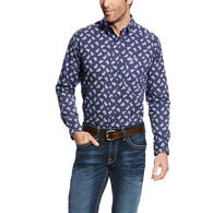 Duval Print Fitted Shirt