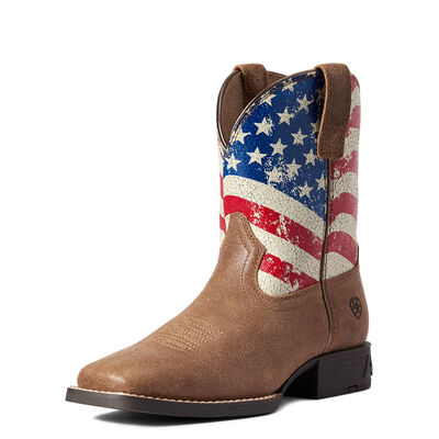 Youth Stars and Stripes Western Boot