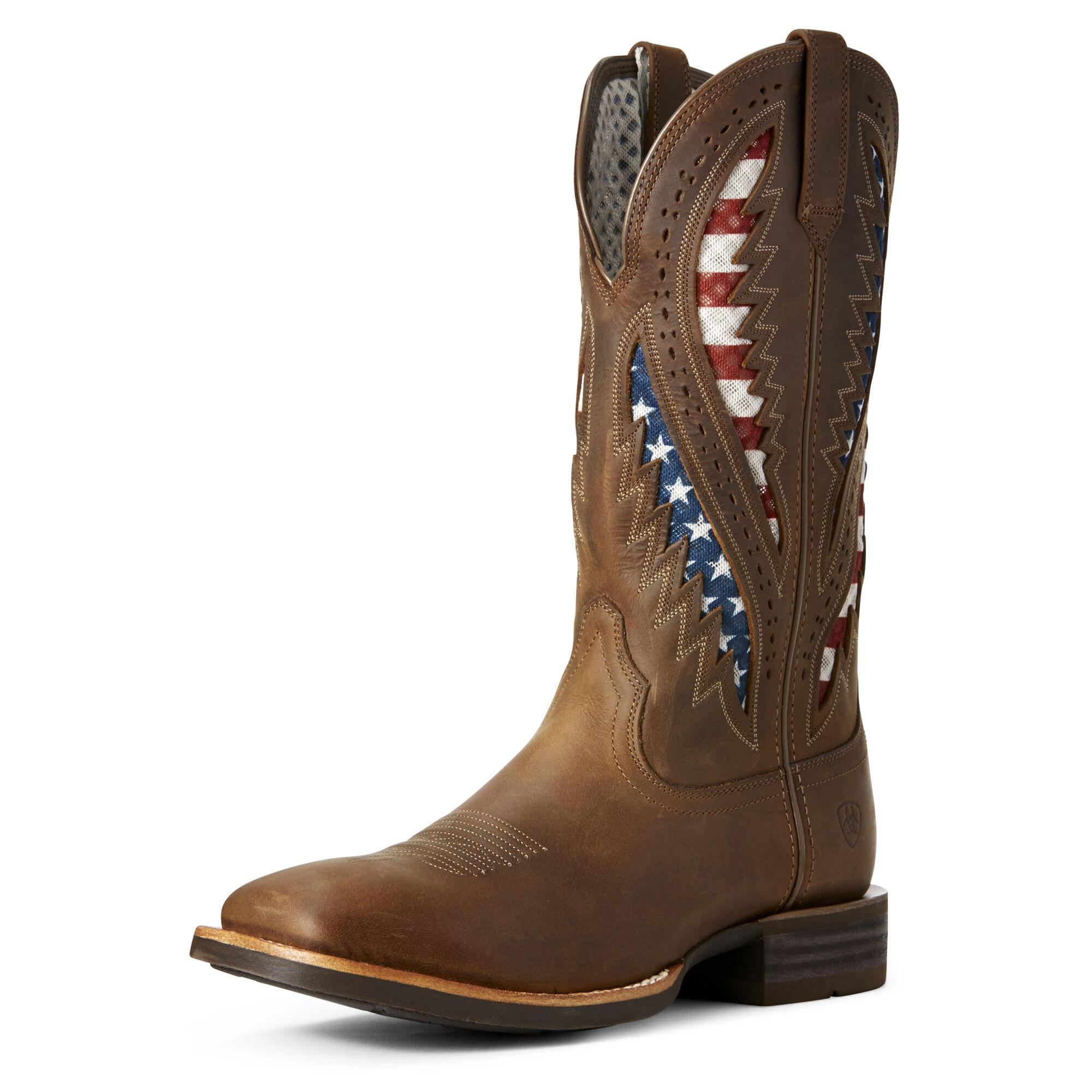 Quickdraw VentTEK Western Boot
