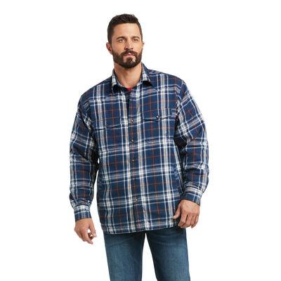 Retro Hackett Insulated Shirt Jacket