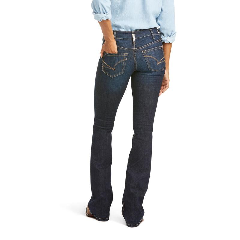 R.E.A.L. Mid Rise Arrow Fit Jocelyn Boot Cut Jean