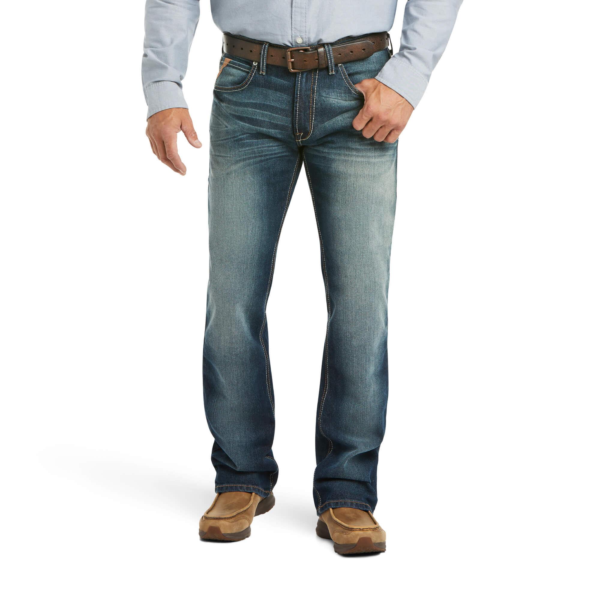 Men S Western Jeans Cowboy Jeans Ariat