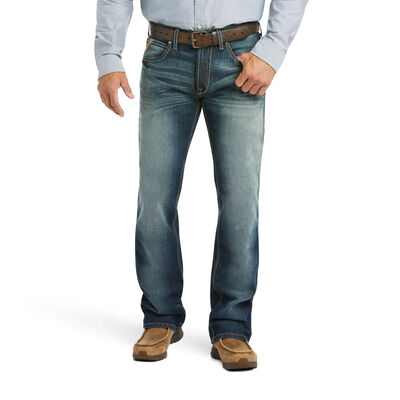 M5 Slim Stretch Patterson Straight Jean