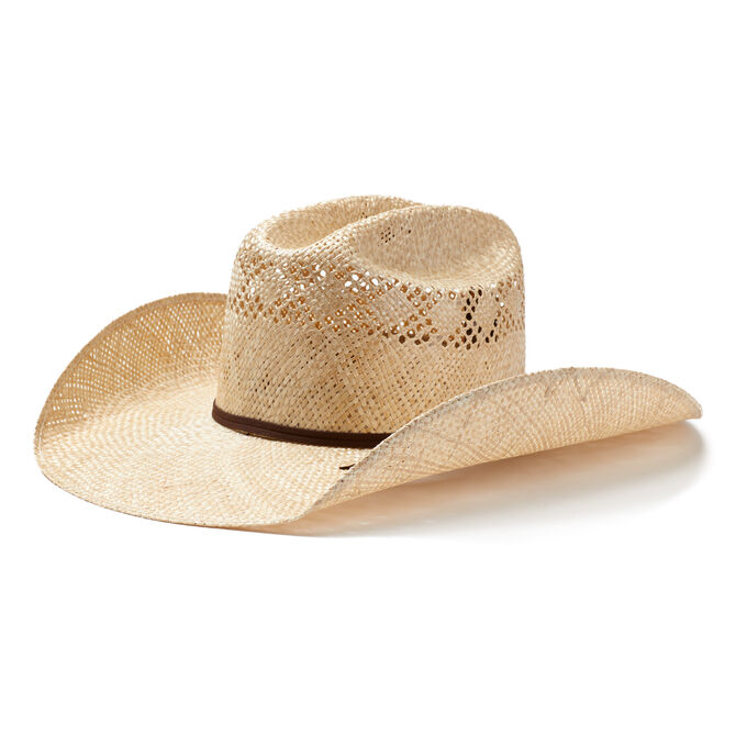 Twisted Weave Straw Hat