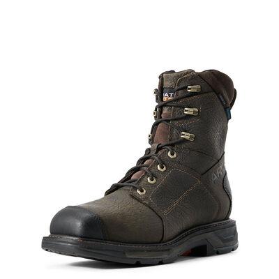 "WorkHog XT 8"" Side Zip Waterproof Carbon Toe Work Boot"