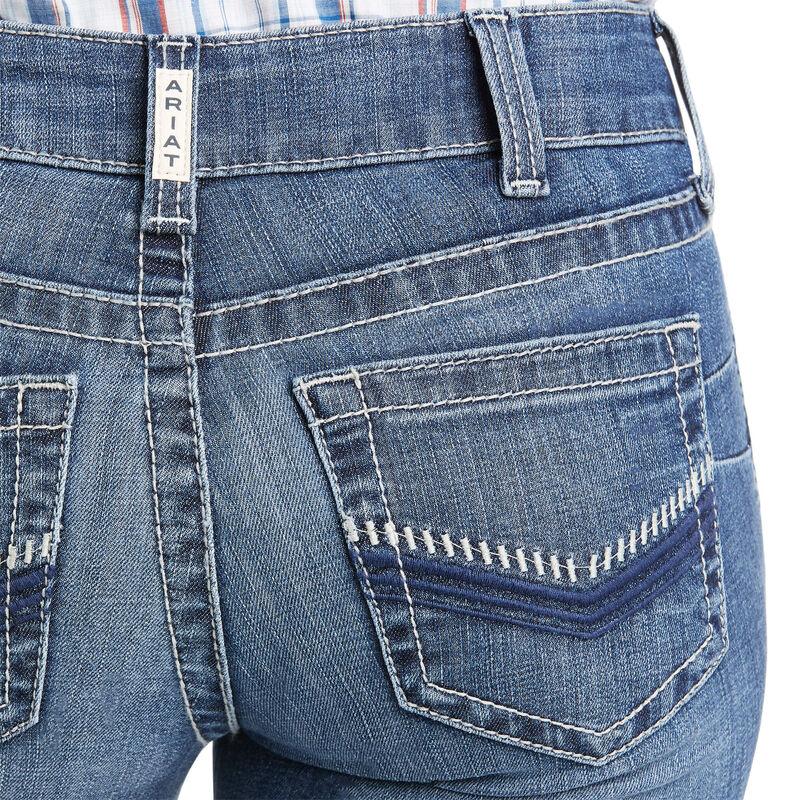 R.E.A.L. Perfect Rise Cameryn Straight Jean