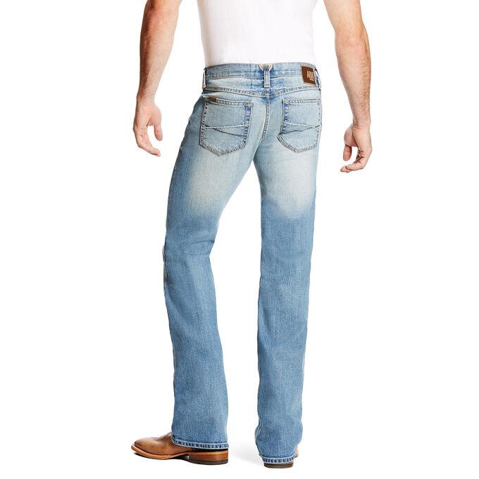 M7 Rocker Stretch Trace Boot Cut Jean