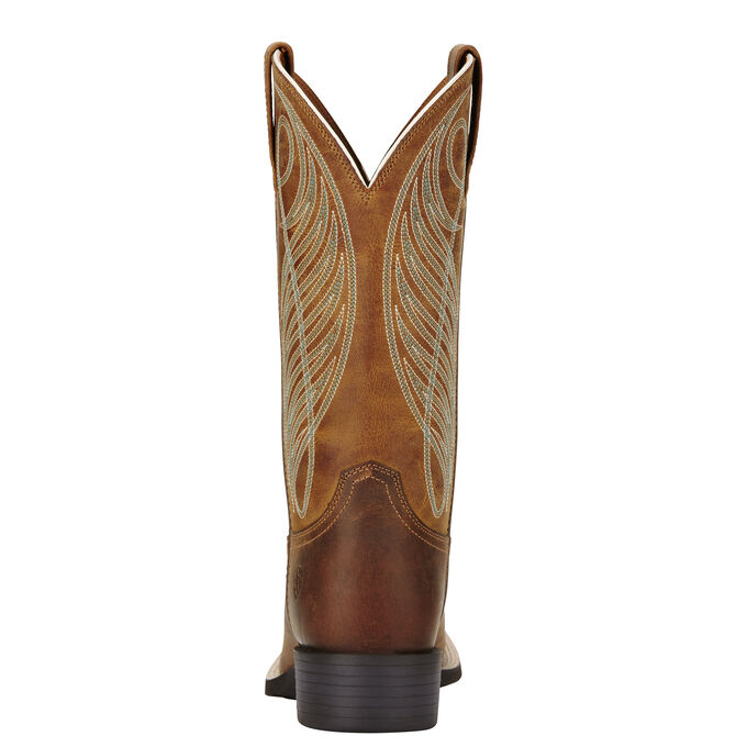 ecc11ef3977 Round Up Wide Square Toe Western Boot