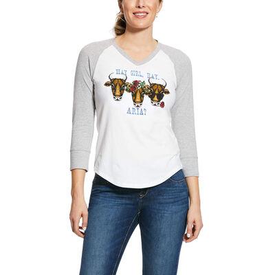 REAL Hay Girl T-Shirt