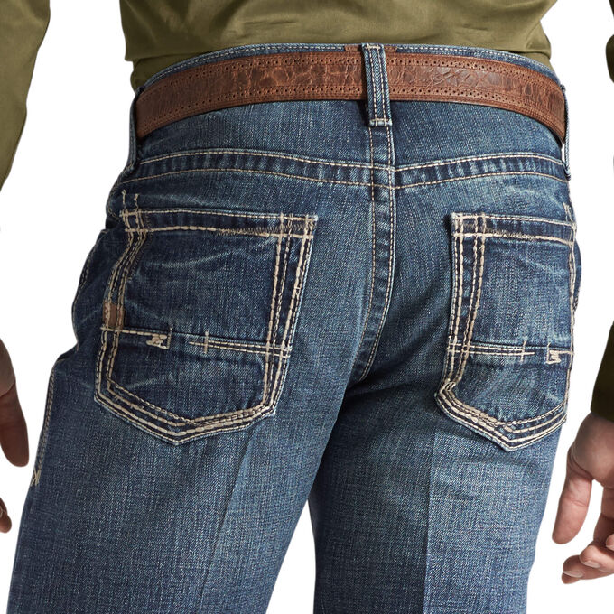 M5 Slim Boundary Stackable Straight Leg Jean
