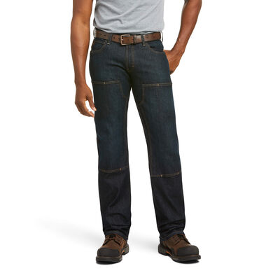 Rebar M5 Straight DuraStretch Basic Double Front Stackable Straight Leg Jean