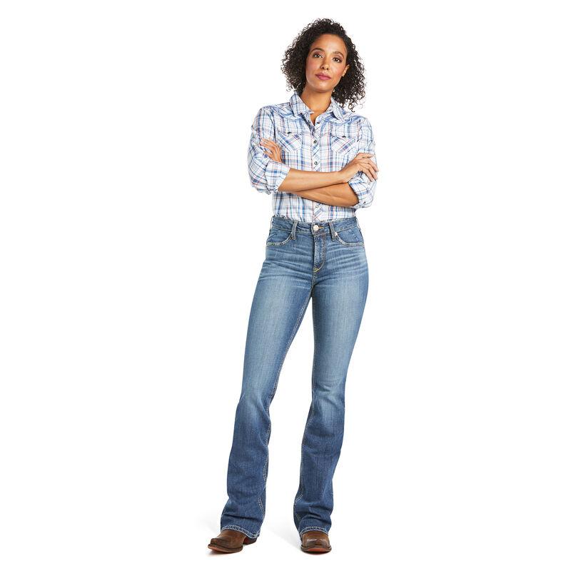 R.E.A.L. High Rise Rebecca Boot Cut Jean