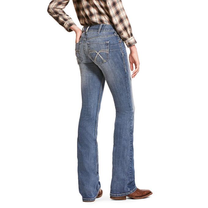 R.E.A.L. Low Rise Stretch Franky Boot Cut Jean