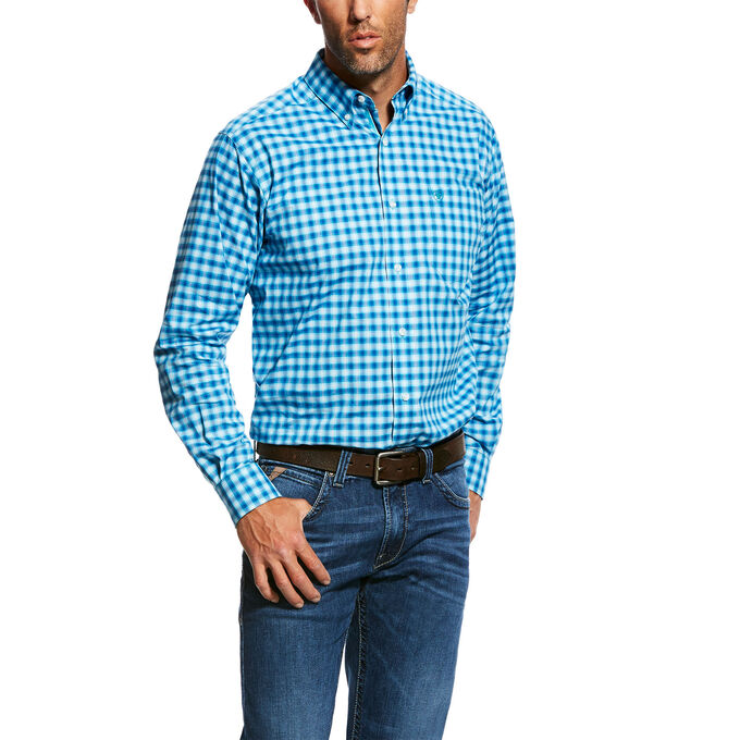 Nazzaro Stretch Performance Fitted Long Sleeve Shirt